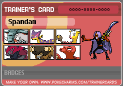 Spandam's pokemon card by captainryno
