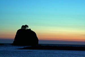Sunset at La Push Beach by indigohippie