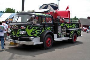 Rat Fink's Fire Truck by indigohippie