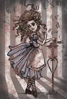 Vintage Alice In Wonderland by SwissDutchess