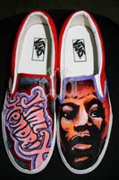 Jimi Hendrix Vans by SwissDutchess