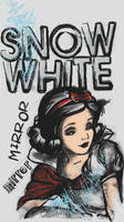 Charcoal Snow White by SwissDutchess