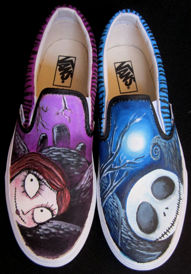 Jack Sally Graveyard Shoes by SwissDutchess