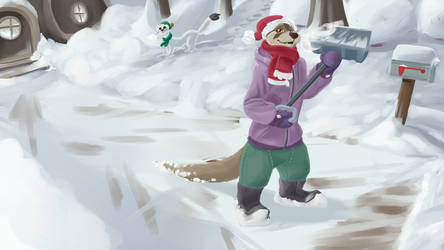 Otter Holiday