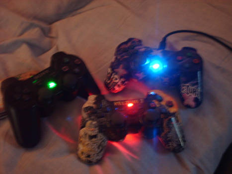 My Modded PS3 Controllers