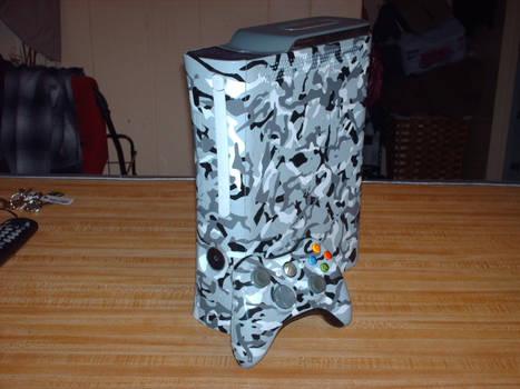 Custom Camo Xbox 360