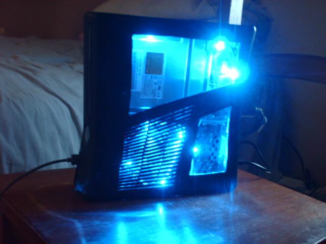Custom Xbox 360 Slim LED