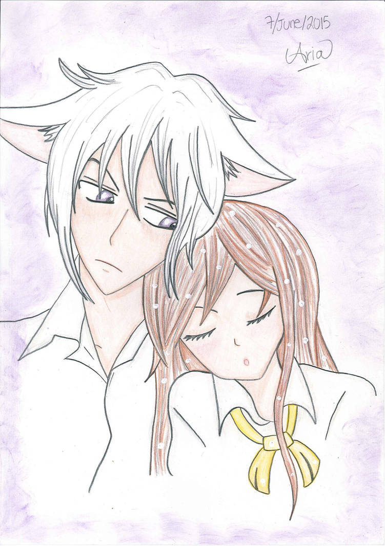 In Kamisama Kiss, does Tomoe fall in love with the real Yukiji or ... | 1063x751