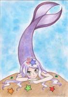 OC: Laney (mermaid) by Sailor-Aria