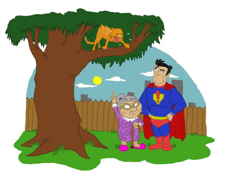 Superhero Problems by TadBrock