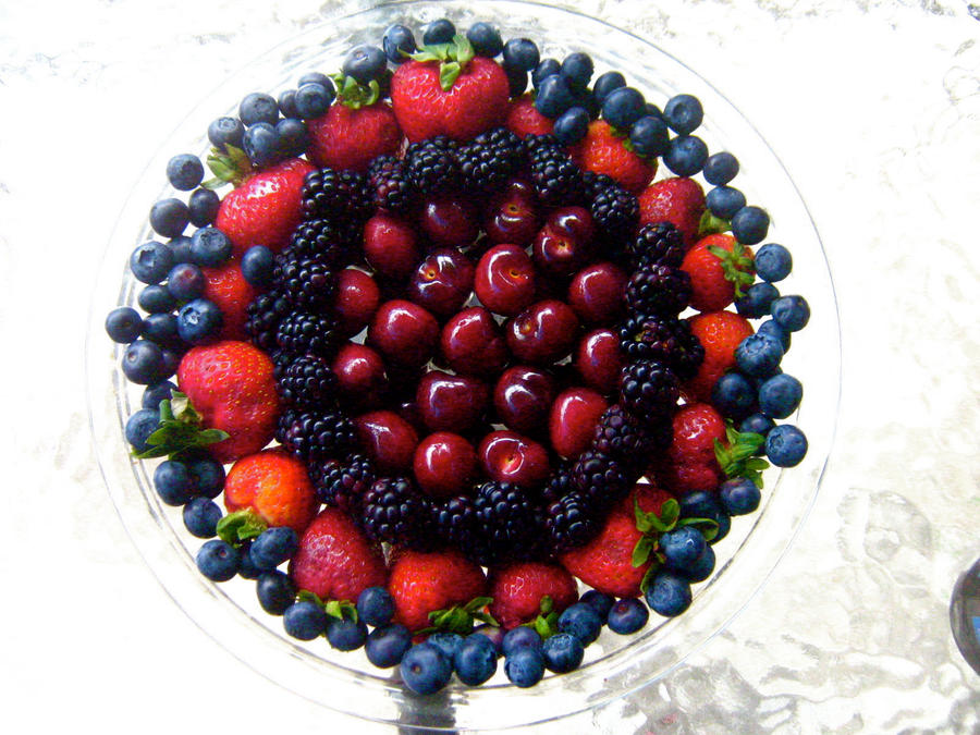 Fruit Plate by anna-beth