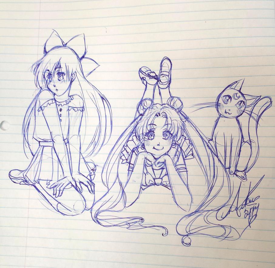 Sailor Moon by amostar