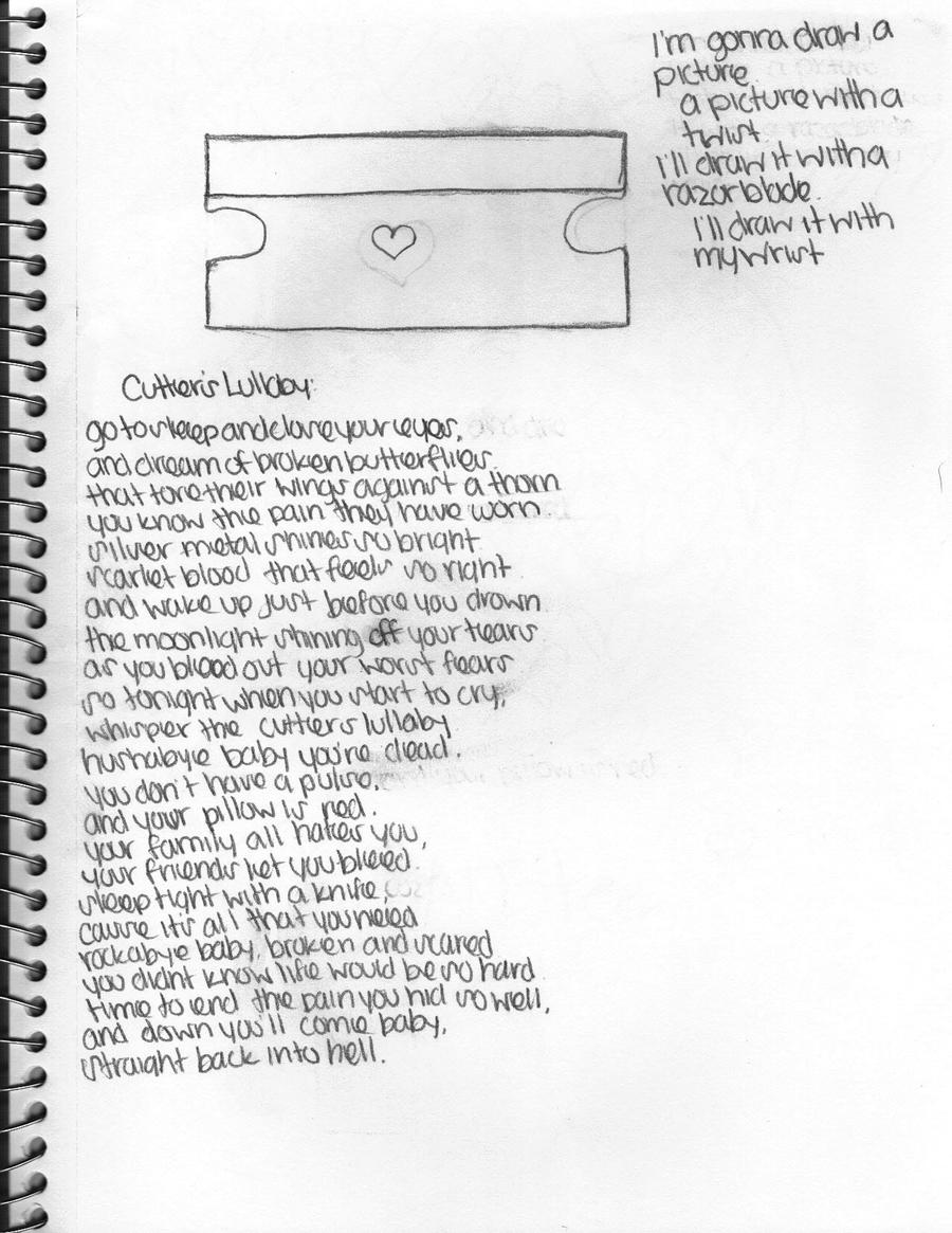 Razorblade And Poems by zutaragirl on DeviantArt