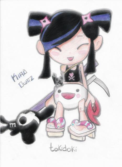 Tokidoki... Ninja baby by kira0wnz