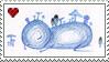 BLUE THING stamp by Kukkaruukku