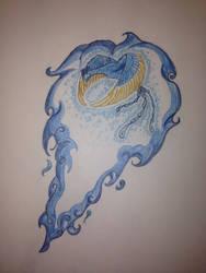 Blue-flammes Phnix  by AnarsLaws