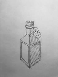 Discord Inktober day 15: potion