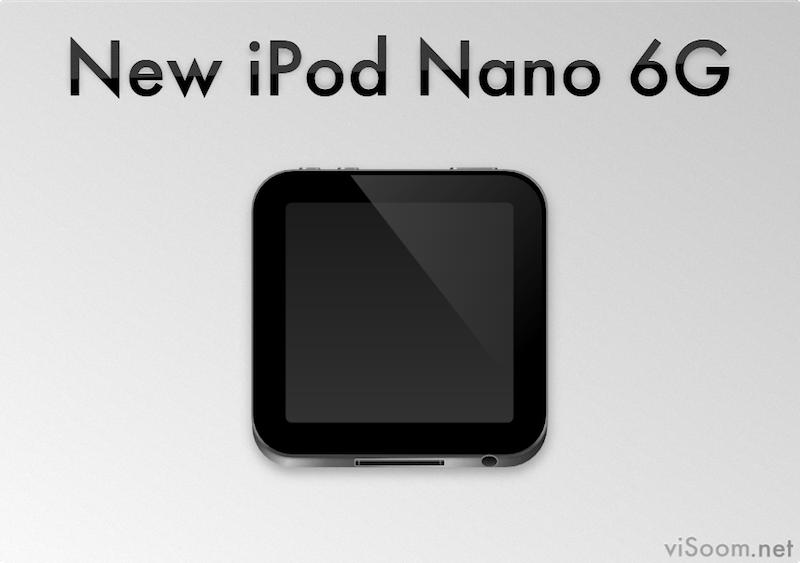 New iPod Nano 6G by Mac-Dragon on DeviantArt
