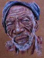 Old man by SaskiaMila