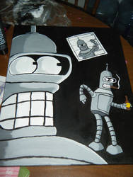 Bender -I made for my BF-