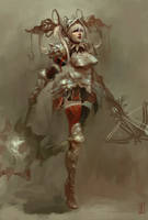 Medieval Harley Quinn by Christian-Angel