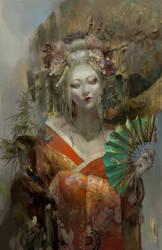 Oiran by Christian-Angel