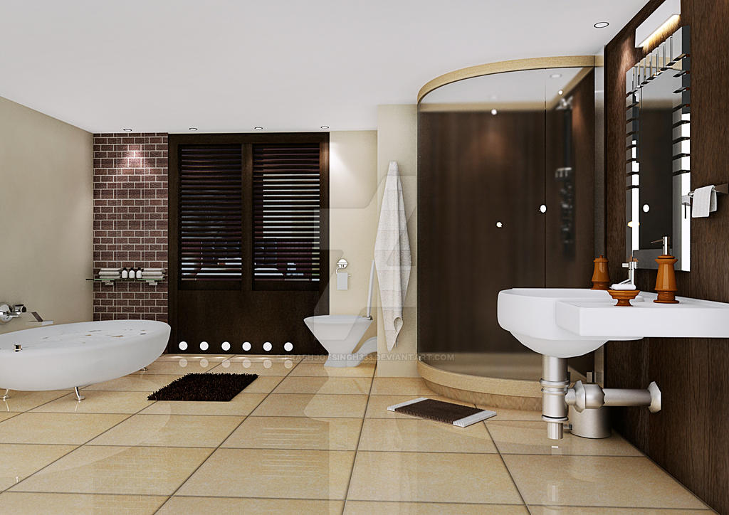 Bathroom by prabhjotsingh333 on deviantart for H g bathrooms brookvale