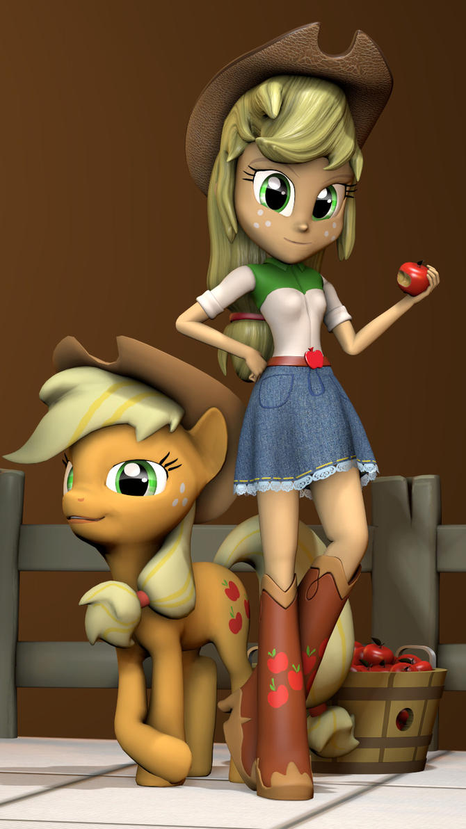 AppleJack by vinuldash