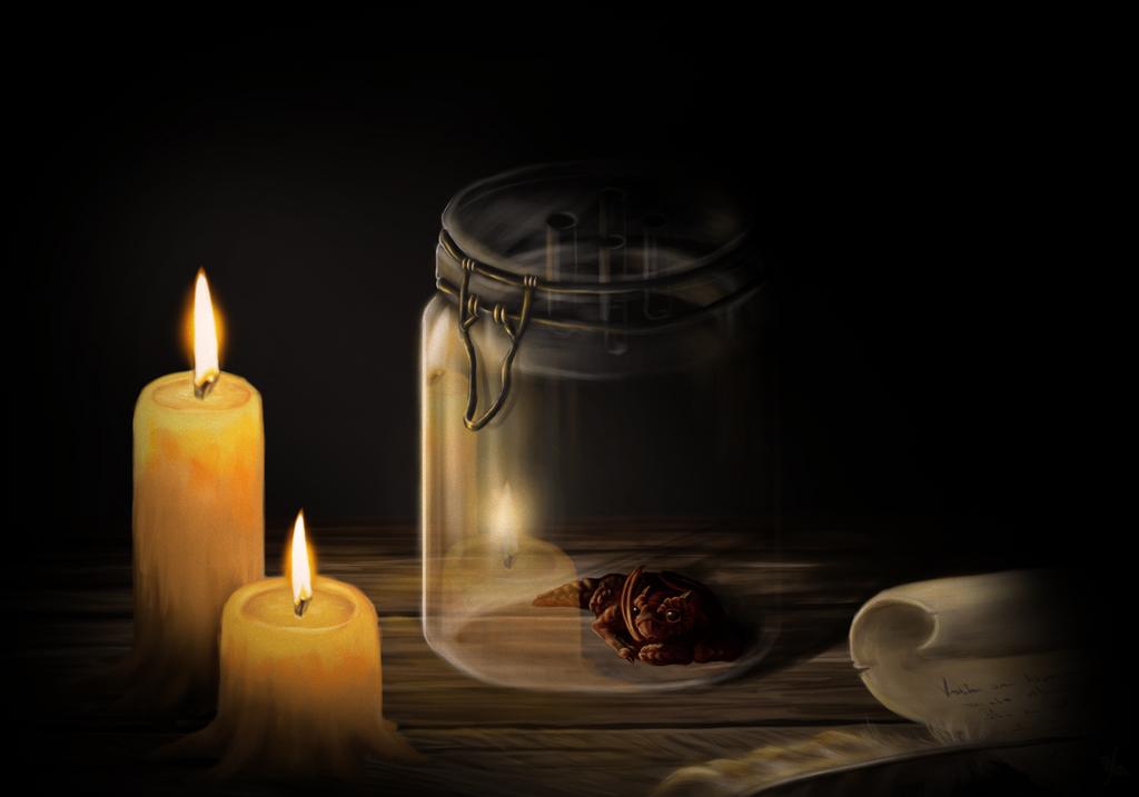 Light that dies the last by LadyAway