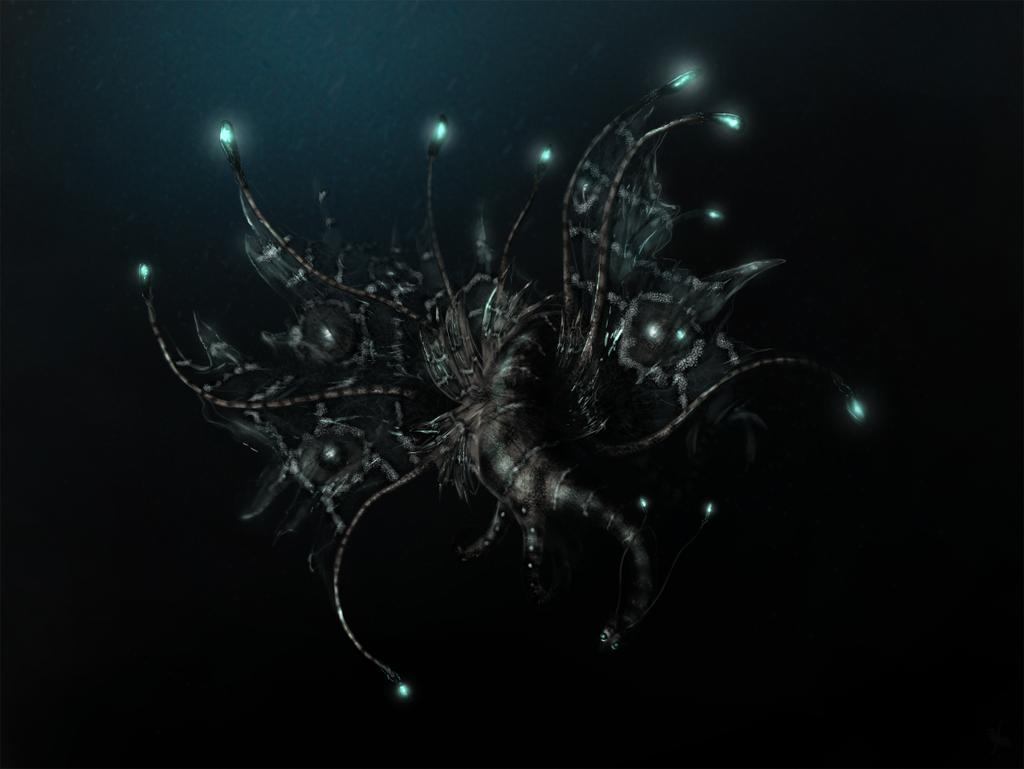 Deep Sea Dragon by LadyAway
