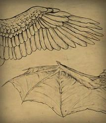 Wings Tutorial by MonikaZagrobelna