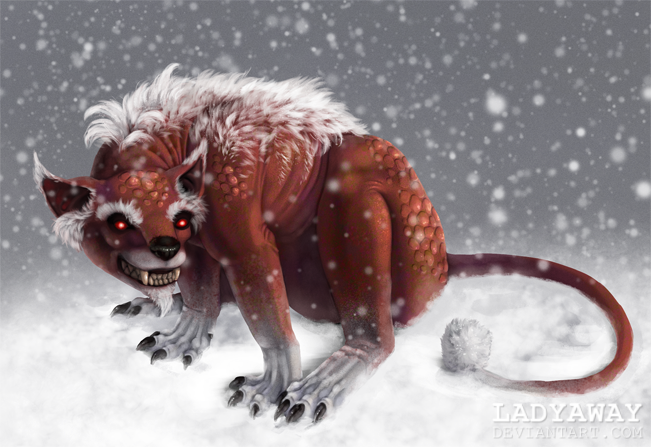 Santa Claws by LadyAway