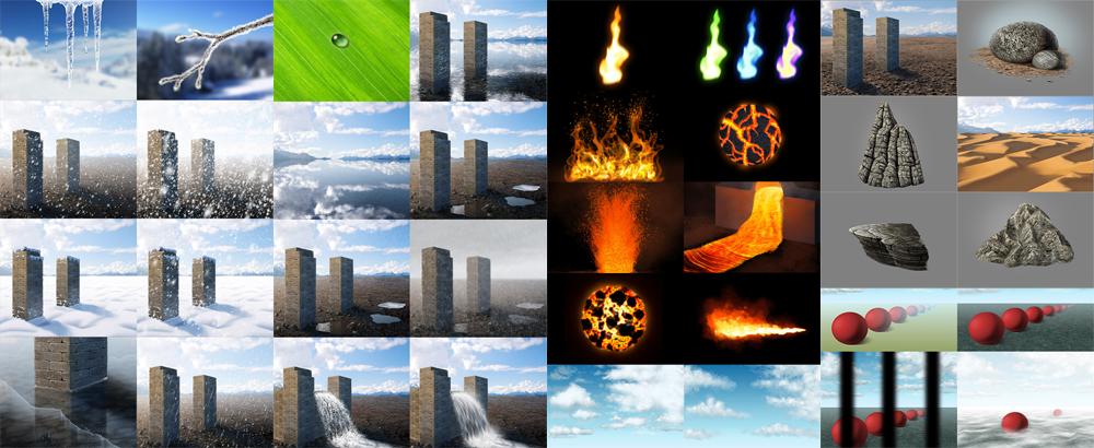 Harness the Elements: Photoshop tutorial series by MonikaZagrobelna