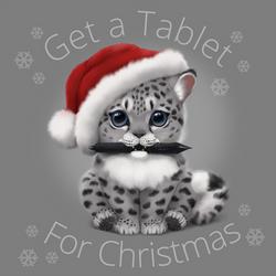 Get a tablet for Christmas! by MonikaZagrobelna