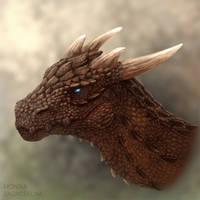 Red dragon head (with video)