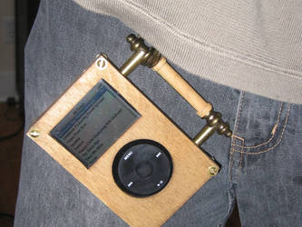 Steampunk iPod Prototype 3 by Insidebook