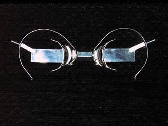 WIP Steampunk glasses by Insidebook