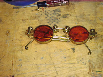Steampunk Sunglasses 1 by Insidebook
