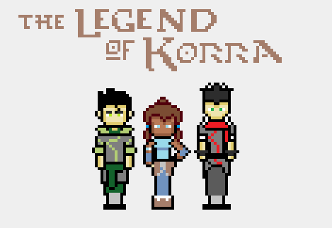 8-Bit Legend of Korra by Numbuh1Nerd