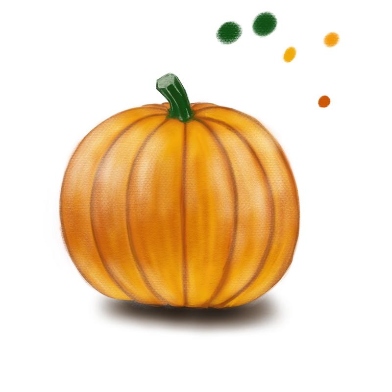 Pumpkin study by Crysomandiaz