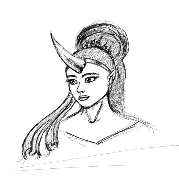 Unicorn Girl by Crysomandiaz
