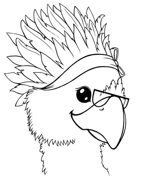 Chocobo avatar by Crysomandiaz