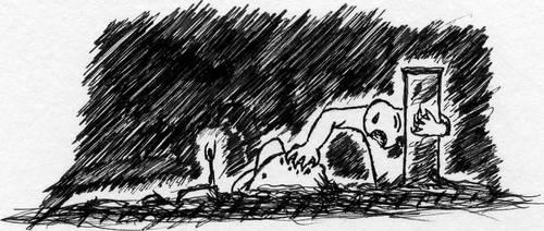 H. P. Lovecraft Dagon by CrozierPickman