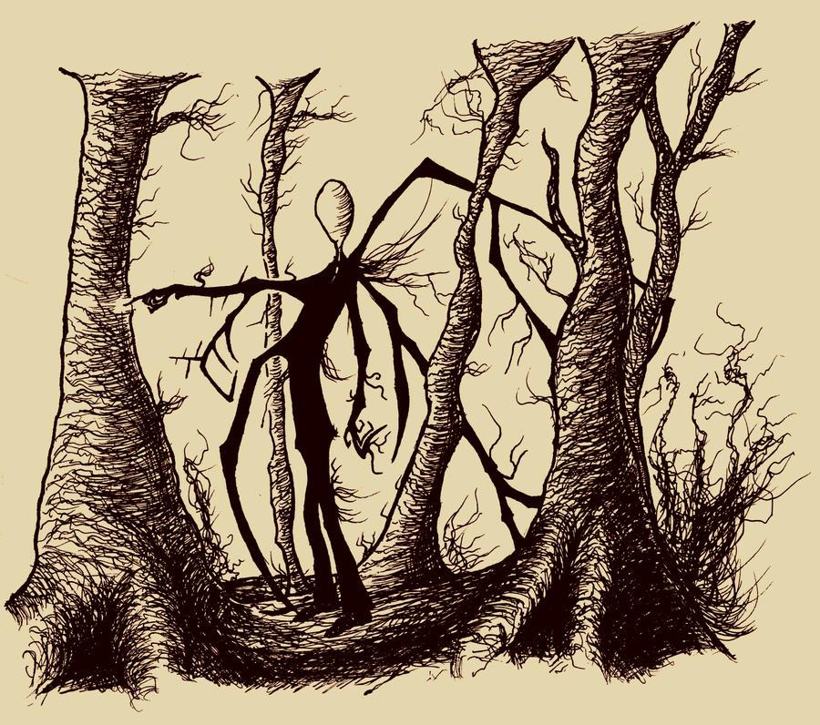Diário dos Sonhos Lúcidos de Gustavo K.O Slender_man_by_crozierpickman-d5d9kqh