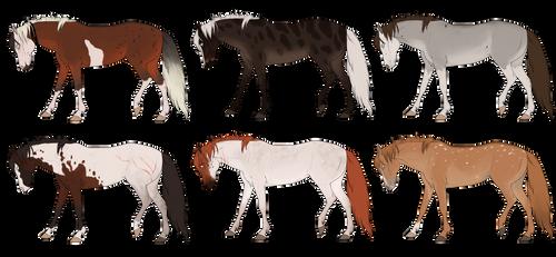 Horse PayPal adoptable 2$ OPEN [5/6]