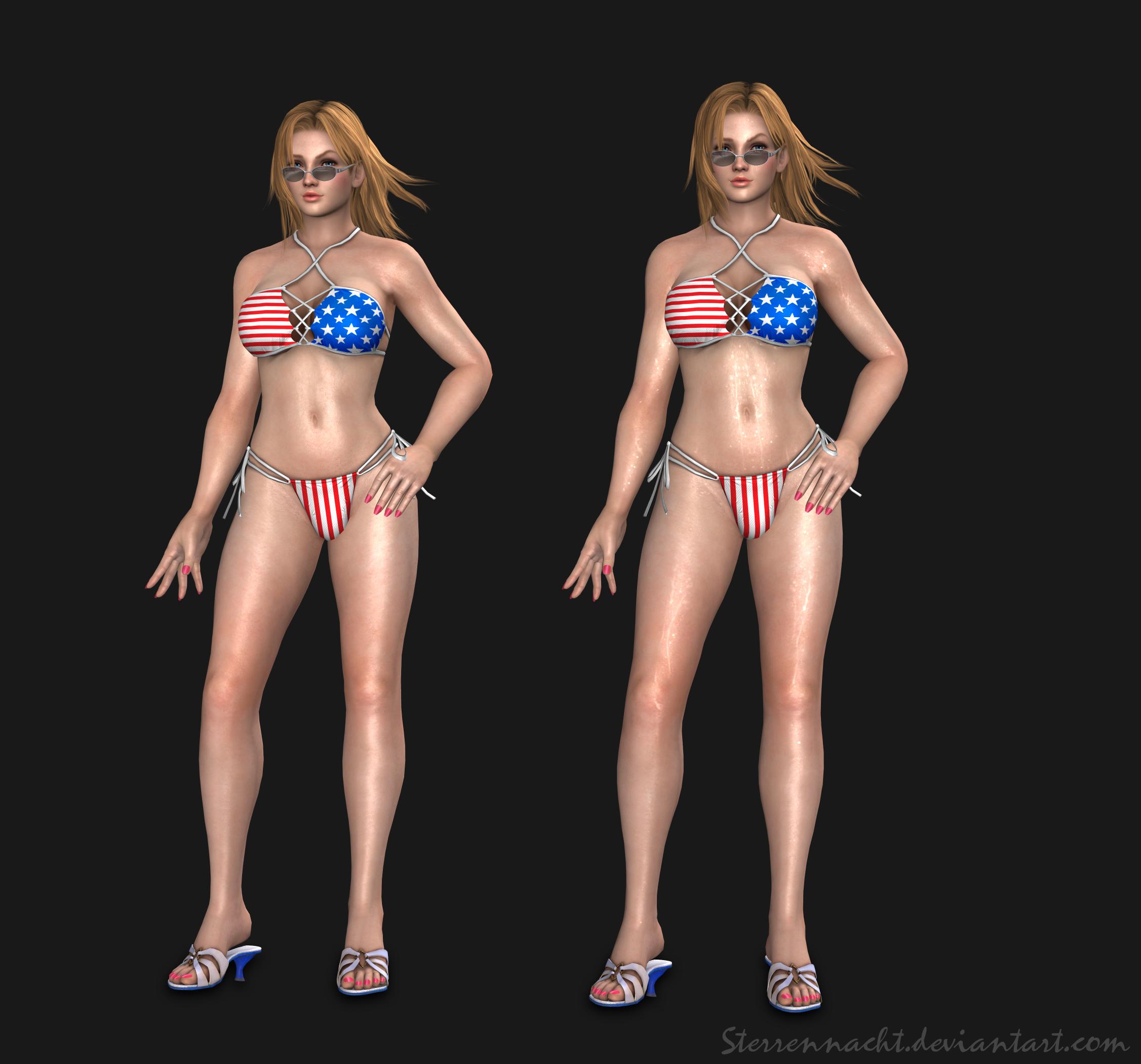 DOA5 - Tina Armstrong (bikini) by Sterrennacht
