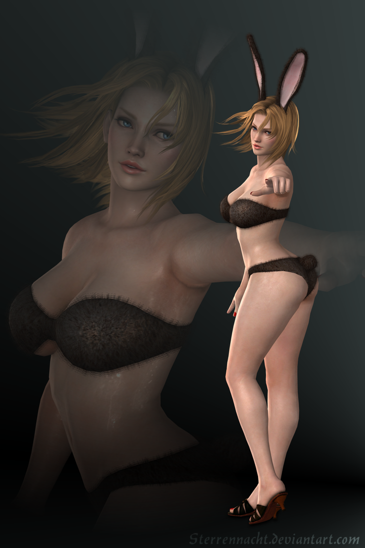 DOA5 - Tina Armstrong - bunny by Sterrennacht