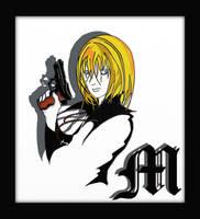 Mihael Keehl, Death Note fan-art by LodeinArt