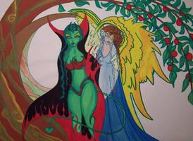 Garden of Eden by LodeinArt