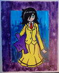Watamote fan-art: Tomoko Kuroki